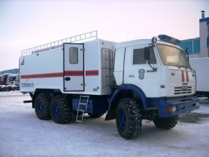 Фургоны для МЧС