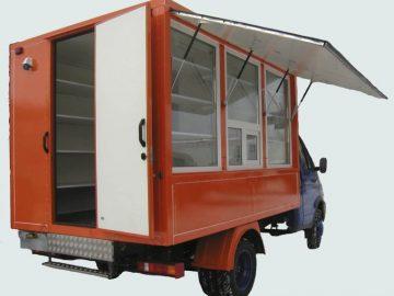 Фургоны для торговли
