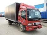 Промтоварные фургоны с массой перевозимого груза до 5500 кг.