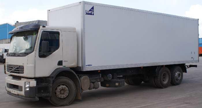 Фургоны пластиковые