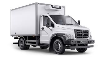 Изотермический фургон ГАЗон Next