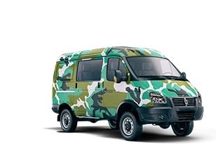 Автомобиль для активного отдыха ГАЗ 4WD