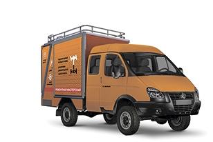 Ремонтная мастерская ГАЗ 4WD